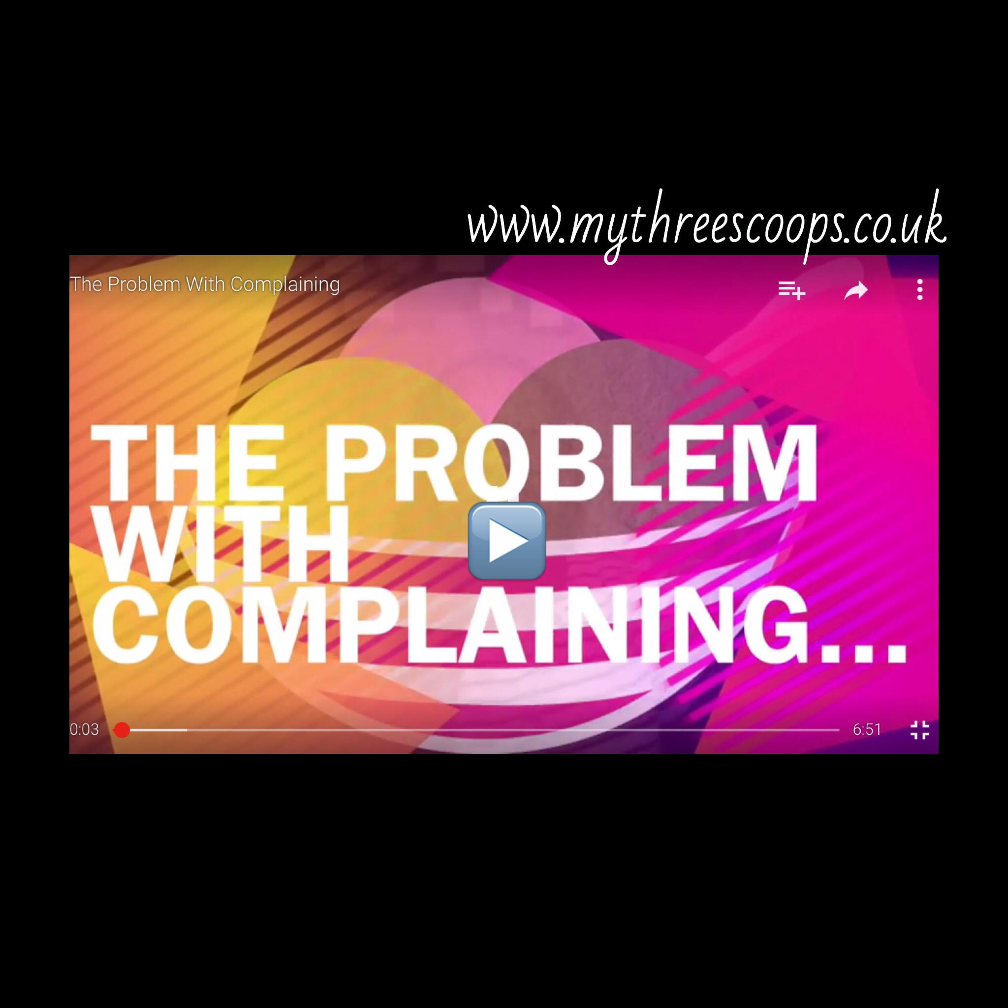 The Problem With Complaining [VLog]